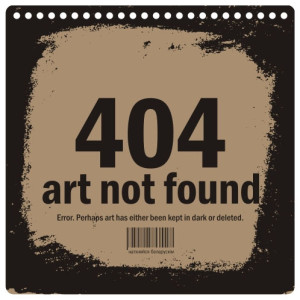 404_art_not_found_apisanne